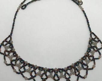 Crystal Lace Necklace