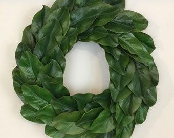 Magnolia Wreath, Farmhouse Decor, Fixer Upper Decor, Farmhouse Wreath