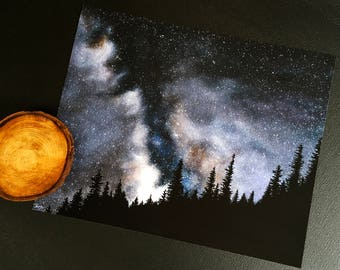 We Are Stardust - painting poster print