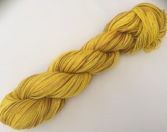 Yellow Brick Road - hand dyed yarn 3.5 oz 437 yds