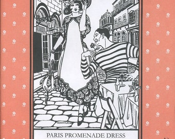 Paris Promenade Dress, Folkwear Pattern 261