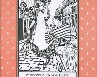Paris Promenade robe, modèle Folkwear 261