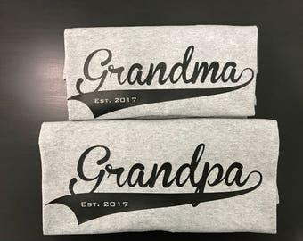 Grandparent T-shirts (each sold seperately)