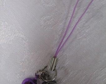 Powerful Purple Gemini Good Luck Amulet Talisman Omamori Charm
