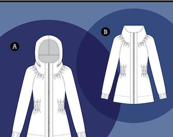 The Minoru Jacket, Paper Pattern by Sewaholic