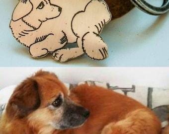 Caricature-portrait of your pet