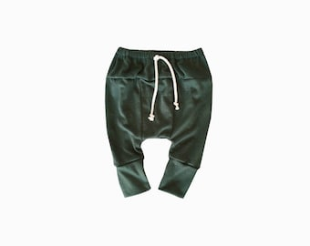 Olive Baby Harem Pants, Baby Harems, Hipster Baby Clothes, Baby Boy Clothes, Baby Joggers