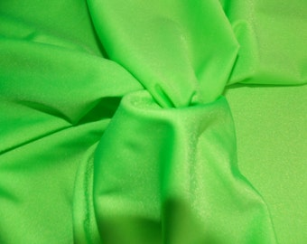 Lime Green Nylon Spandex Fabric~Swimming Fabric~L@@K!
