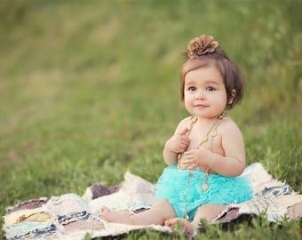 Custom Rag baby Quilt,  Choose your own fabrics