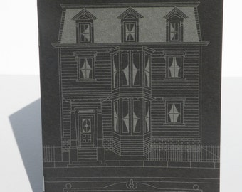 The House of The Man That Died, Chapbook Edition of 300