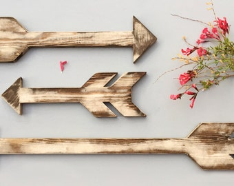 Wood Arrows, Arrow Sign, Rustic Arrow, Wall Decor, Chevron Wall Art, Wall Art, Wooden Wall Art, Wooden Arrows, Shabby Chic