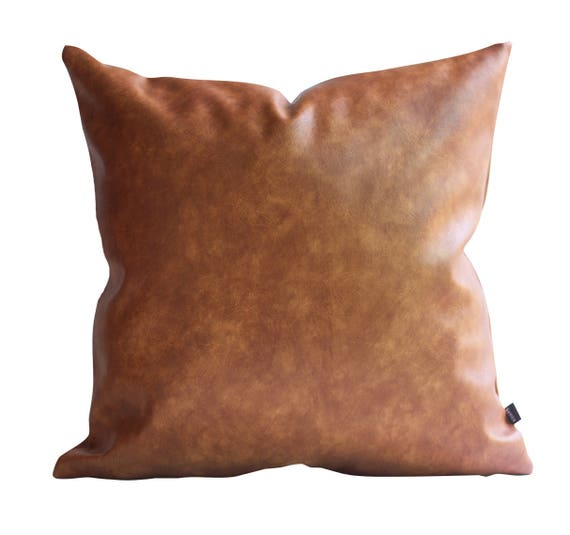 cover for tan pillow pitx il pillows decorative leather thick listing faux