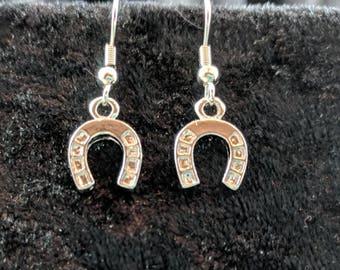 Horseshoe earrings #277