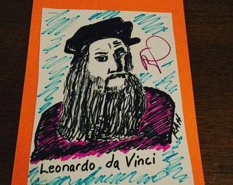 Leonardo Da Vinci one gifted soul