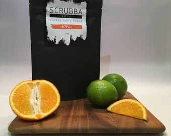 Citrus Coffee Body Scrub