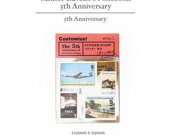 Traveler's Midori Vintage Sticker - Notebook 5