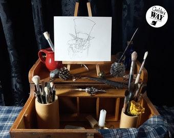 ORIGINAL ART - Mad Hatter