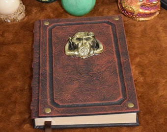 Fallout Power Armor Grimoire Tome Journal Sketchbook Vault Larp Cosplay