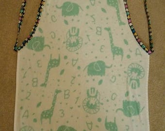 Towel Apron, Baby Shower gift, Baby Wrap, Pet, Doggy Washing Towel