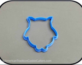 "3.75"" Owl 3D Printed Cookie Cutter #P3004"