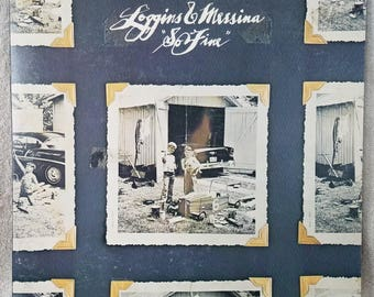 "Loggins and Messina 1975 So Fine (PC 33810) 12"" Vinyl 33 LP Columbia Rock - Wake Up Little Susie - You Never Can Tell - Hey Good Lookin VG/+"