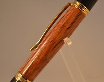 Honduran Rosewood Sierra Style Pen with 24K Gold Plating