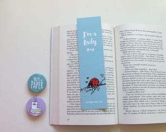I'm a Lady (bug) - Bookmark - Animal Quotes Collection