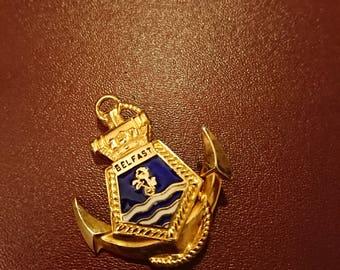 HMS Belfast badge