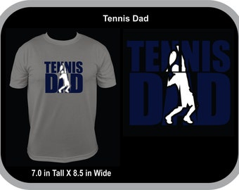 Tennis Dad Can Be Personalized