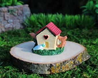 Fairy Garden Miniature, Birdhouse Teapot, Garden Supplies, Miniature Teapot, Fairy Garden Birds, Miniature Birds, Birdhouse for Fairy, Gnome