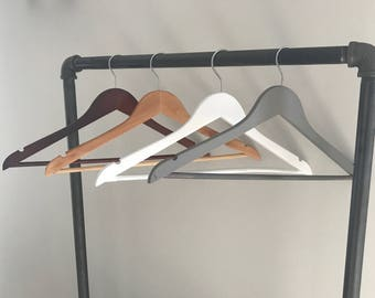 Custom Bridal Hangers, Wedding, Hanger, Bride, Bridesmaid