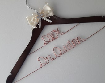 Personalized Veterinarian Hanger, Doctor Graduation Hanger, College Graduation, White Coat Ceremony, First White Coat Hanger