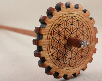Medium Weight Flower of Life Gear Spindle