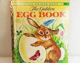 The Golden Egg Book by Margaret Wise Brown 1962 Vintage Little Golden Book 456