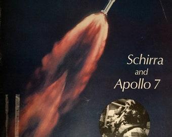 Vintage Life Magazine, October 25, 1968 Schirra and Apollo 7