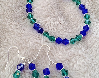 Sapphire and Emerald Set