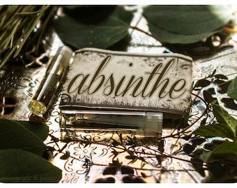 absinthe - natural perfume oil mini sampler - 2 vials o joy - primary notes: ravensara, sweet sage & anise