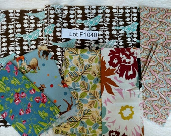 Moda Fabric DESTASH LOT F1035 First 2 Images only
