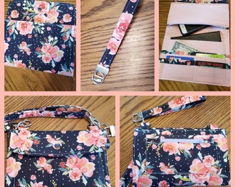 Crossbody Wallet Style Purse
