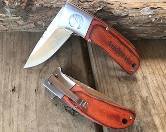 Husband Gift, Boyfriend Gift, Brother Gift, Uncle Gift, Personalized, Pocket Knife, Grandpa Gift, Birthday Gift, Anniversary Gift, Engraved