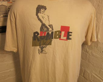 Size XL (48) ** 1980s Rubmel Girl Shirt (Single Sided)