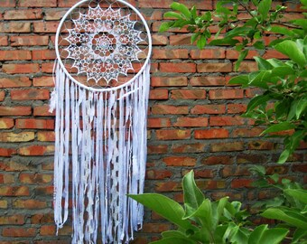 DREAM CATCHER WALL Hanging Large Dream Catcher Boho Dream Catcher Big Dream Catcher Bohemian Dream Catcher Large Dreamcatcher Wall Art Ooak