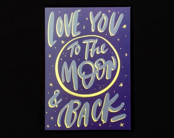 Cards // Moon & Back
