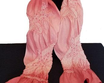Kimono Scarf I4202 - pink obiage