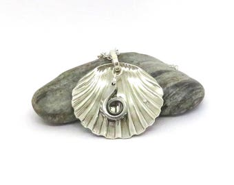 Beach necklace, Shell necklace, Ocean necklace,  dangle necklace, vintage necklace