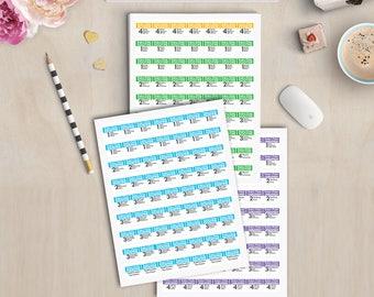 Rodan Fields Regimen Sample Labels - One Inch - Five Sheets