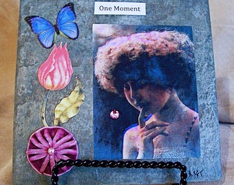 One Moment - Tile Collage