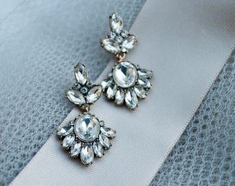 Olivia Earrings, Bridal Earrings, Wedding Earrings