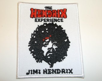 """Jimi Hendrix Experience Embroidered Applique Patch~3"""" x 2 1/2""""~Iron Sew On~Ships FREE"""