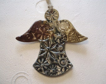 Angel Pottery Ornament